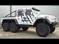 6 t?k?rli monstr Land Rover Defender 6x6 CSK Automative
