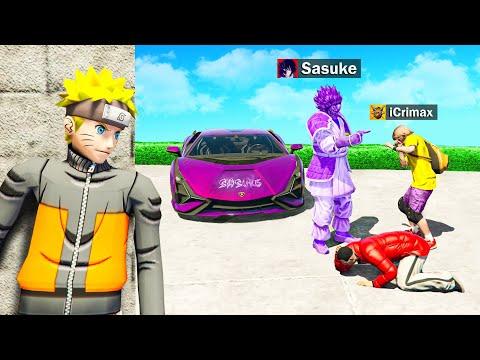 Meine FREUNDE ARBEITEN für SASUKE in Naruto GTA 5 RP!