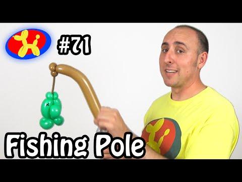 Fishing Pole - Balloon Animal Lessons #71