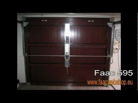 Faac 595 hydraulische garagepoortopener voor binnenblijvende garagepoorten by faacwebshopeu