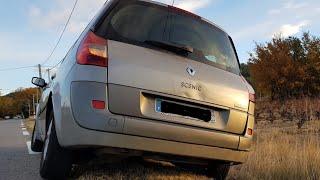 Réparer silentbloc échappement vibration moteur Renault Mégane Senic II #SeDépanner