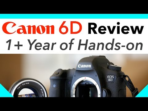 Canon 6D Review 1+ Year of Hands-on - YouTube