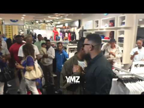 VIDEO: AKA stops by ANATII's Pop-up store launch to show some love