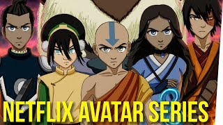 WS - Netflix Producing Live-Action Avatar Series ft. Boze