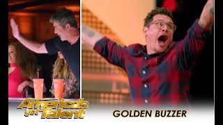 Michael Ketterer: Father Of 6 Earns SIMON COWELL GOLDEN BUZZER!! | America's Got Talent 2018