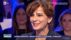 Intervista a Laura Morante, l'attrice italiana dall'anima parigina - La Vita in Diretta 28/03/2018