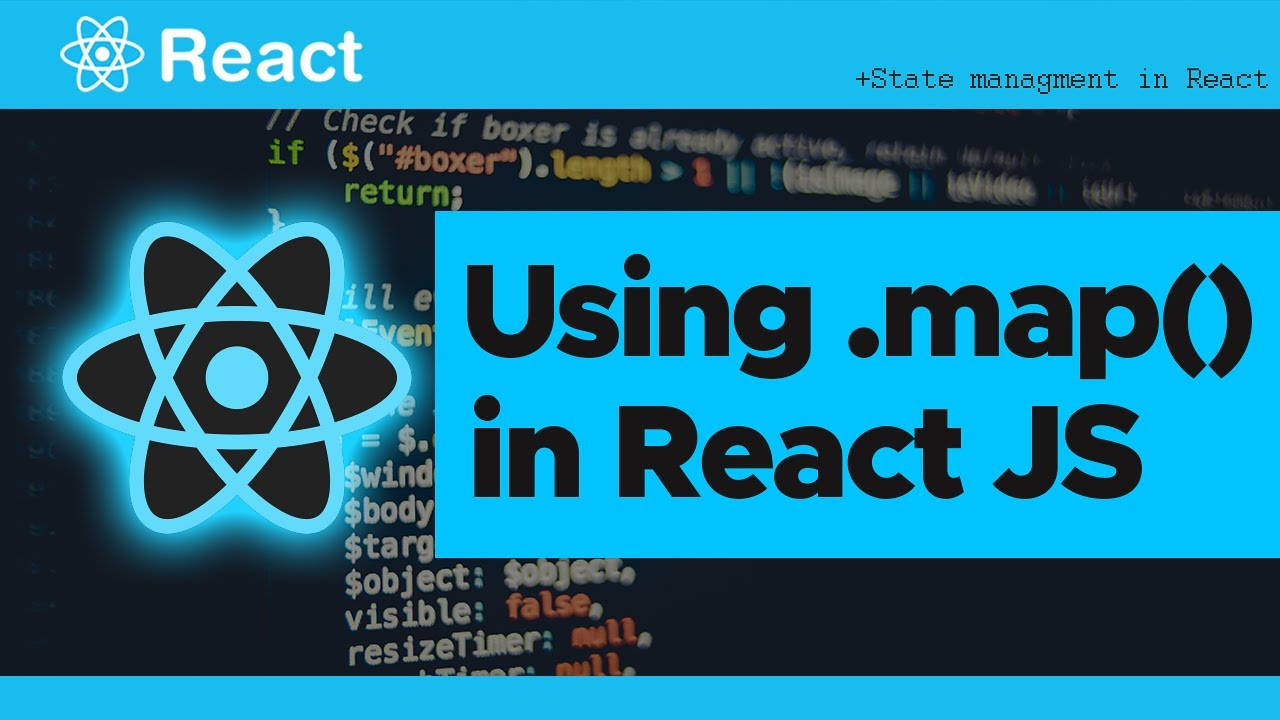 Using Map Method in React - Mapping through the state, API, JSON Data