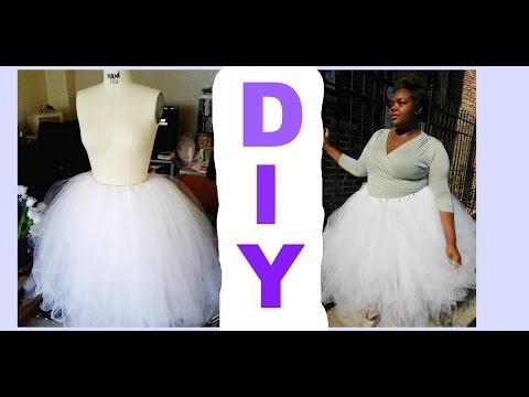 Diy Tulle Skirt Tutorial No Sewing