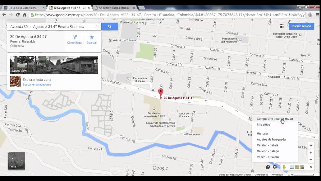 Como colocar mapa a una pagina web google maps 2014 2015 youtube como colocar mapa a una pagina web google maps 2014 2015 gumiabroncs Choice Image