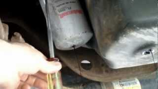 Drain the Oil out of an Oil Filter Tool Tip #11