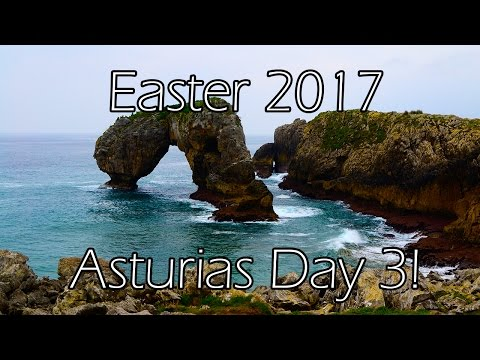 The Cantabrian Sea is beautifully terrifying! - Easter 2017
