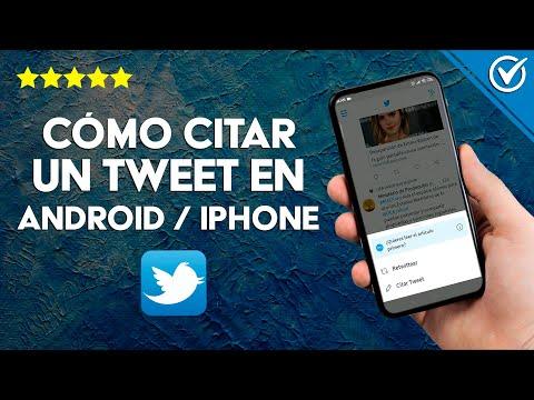 Cómo Citar un Tweet en un Comentario de Twitter en Android o iPhone