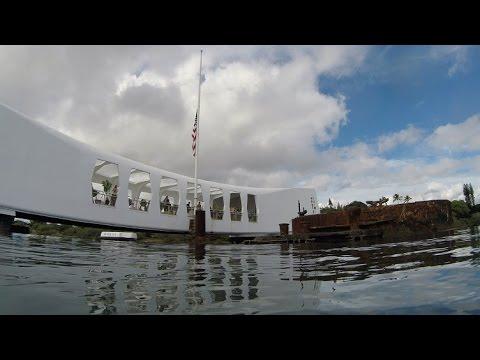 Diving the USS Arizona