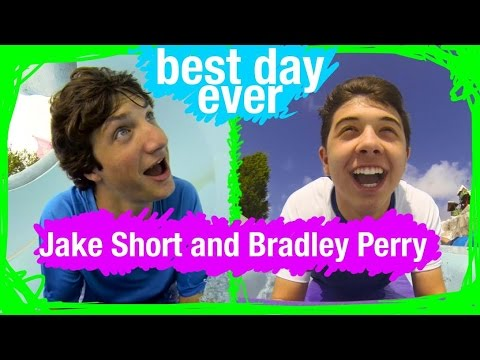 Jake & Bradley Compete at Blizzard Beach  BDE  WDW Best Day Ever