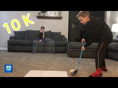 Kids HocKey 10,000 Shots 10,000 Sprinkles 10,000 Subscribers Behind the Scenes