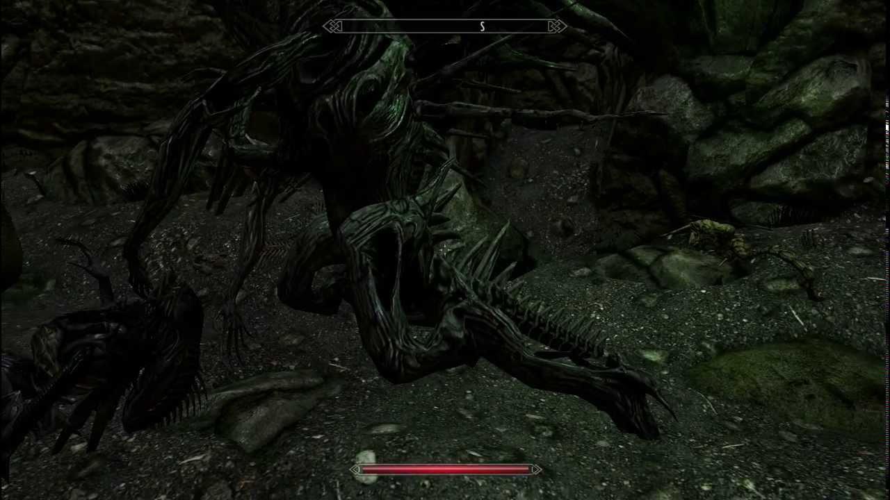 Skyrim Xenomorph Aliens Mod Part 2 - Youtube-8959
