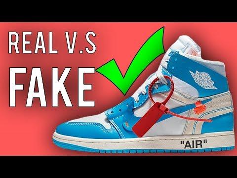 Best Real vs Fake - Jordan 1 Off White