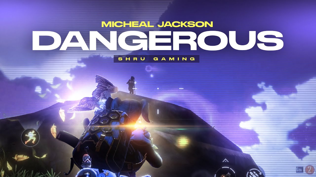 Micheal Jackson - Dangerous | BGMI EDIT ❤️🔥