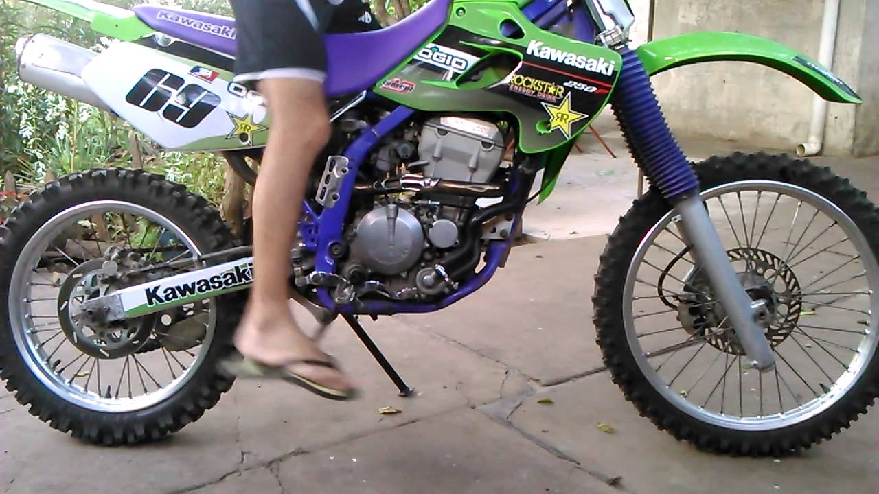 kawasaki klx 250 youtube. Black Bedroom Furniture Sets. Home Design Ideas