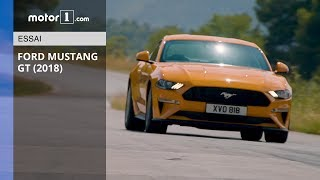 Video Essai Ford Mustang GT (2018) - Bonification d'une icône download MP3, 3GP, MP4, WEBM, AVI, FLV Agustus 2018