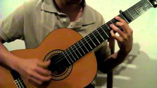 Lady Antebellum - Need You Now (Acoustic Guitar Solo)