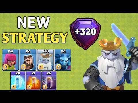 New Strategy Royal Ghost Troop | Th12 3 Star Attacks | Clash Of Clans