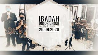 Ibadah Undhuh-Undhuh 20 September 2020 GKJW JEMAAT RUNGKUT Pukul 08.30 WIB