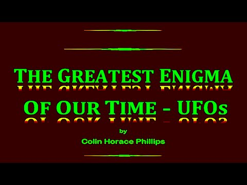 Colin Phillips Presentation with UFO Research Queensland