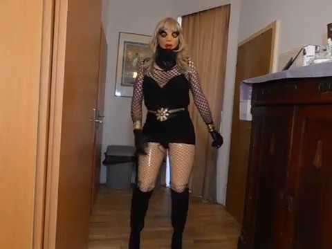 Female Mask Femskin Latex Rubber Doll 22