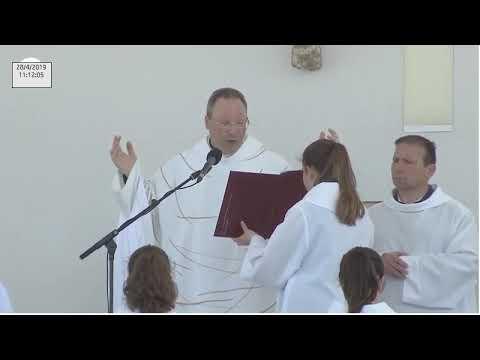 Missa solene a Nossa Senhora de Fátima desde a esplanada do Santuário de Fátima 28.04.2019 from YouTube · Duration:  1 hour 39 minutes 40 seconds