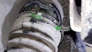 КАК ЛЕГКО поменять оба пыльника ШРУСа на одном валу Mitsubishi Outlander/ #АлексейЗахаров. Авто