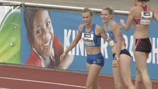 Nadine Visser rennt Meeting-Rekord