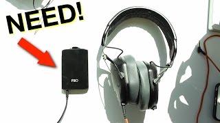 Why You NEED a Headphone Amp!