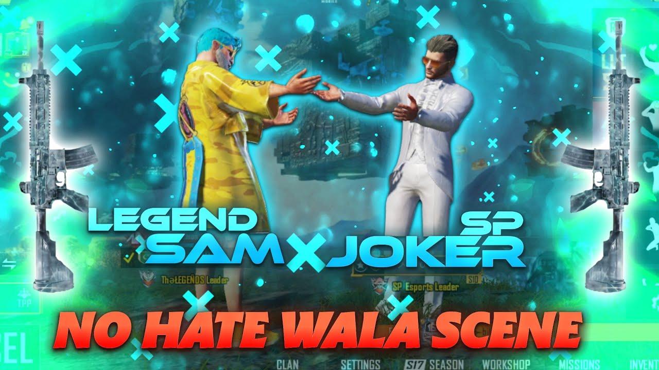 Download ŁEGEND SAM VS SP JOKER | FRIENDLY 1V1 NO HATE WALA SCENE | PUBGMOBILE