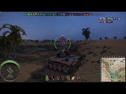 World of Tanks Console Scorpion G - 377,000 Silver - 5,600 Damage