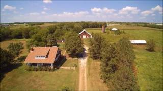 2017/09/09 Morray Auction Aerial Video (38.67 Acres with home in Lyon Co(