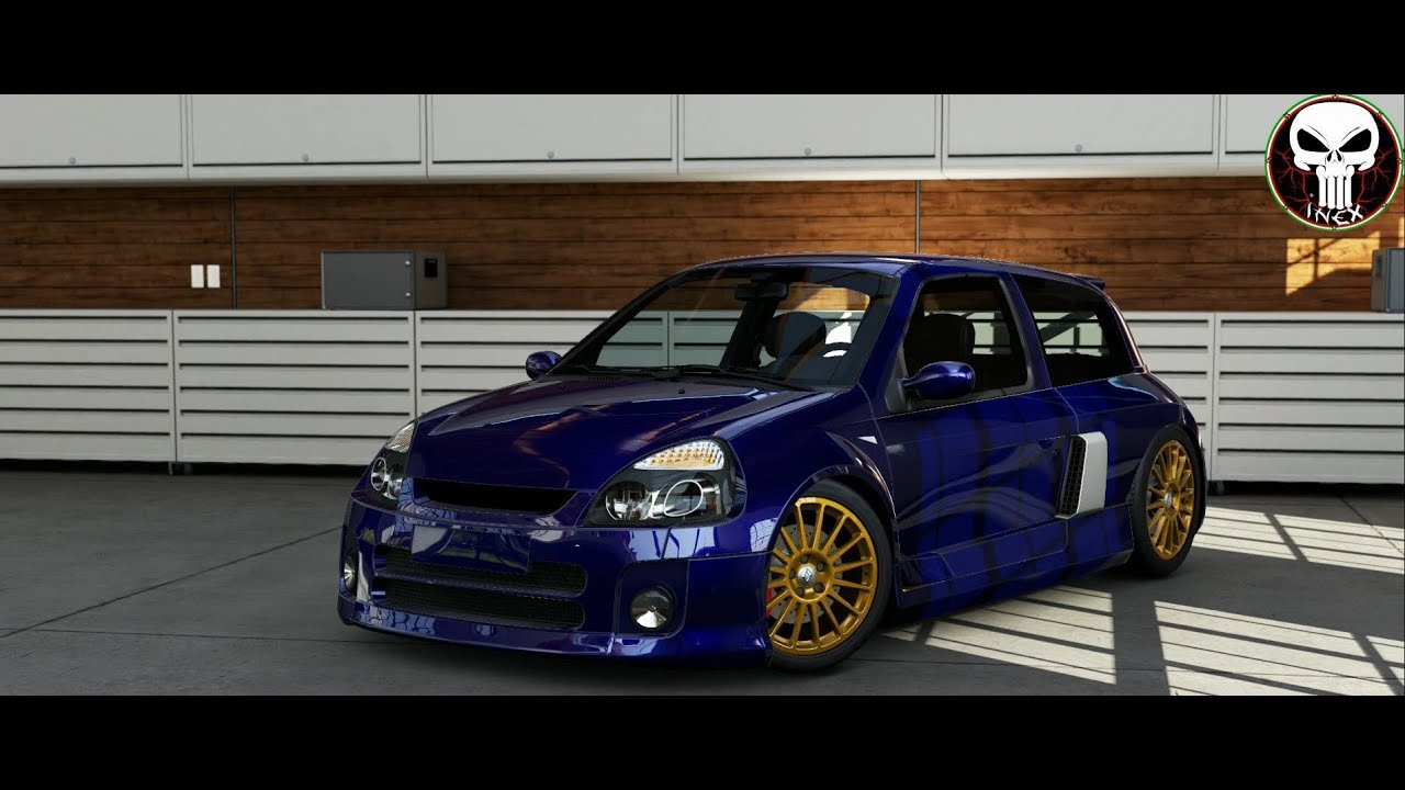 forza motorsport 5 renault clio v6 youtube. Black Bedroom Furniture Sets. Home Design Ideas