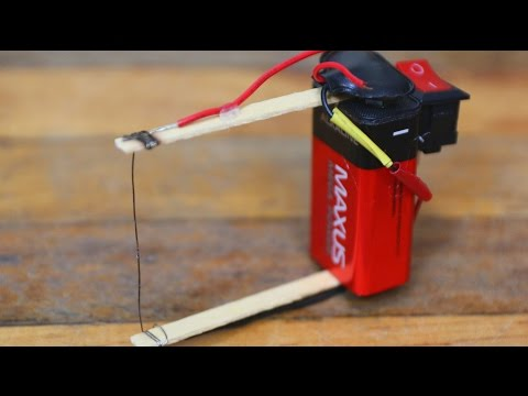 Thumbnail: How to make a plastic foam cutter