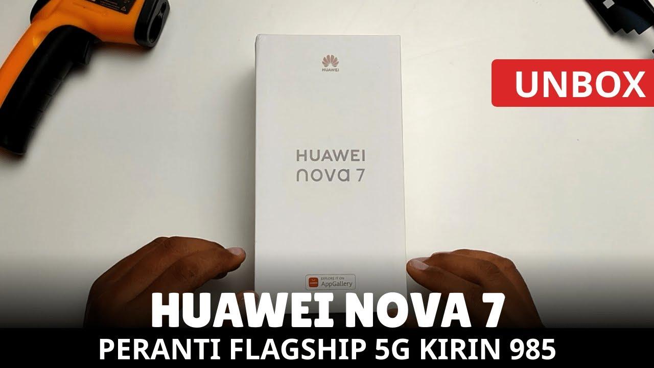 [UNBOX] HUAWEI NOVA 7, Flagship 5G Dari Huawei