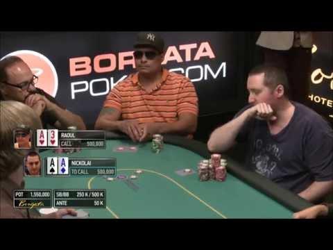 Borgata Poker Open 2015: $2 Million Guaranteed Final Table broadcast archive
