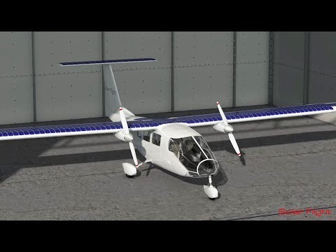 6 Seat Solar Aircraft Concept