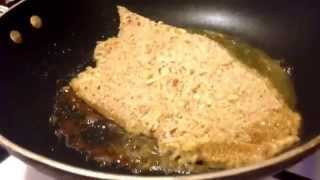 Almond Crusted Chicken Cutlet