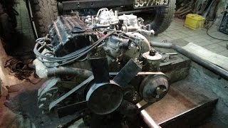 Mercedes 190 qismi № 6 ta'mirlash motor M 102 Yig'ish .Tugatish .