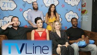 Blindspot Interview    TVLine Studio Presented by ZTE   Comic-Con 2016