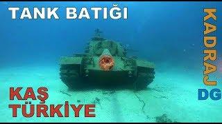 Tank Batığı Kaş Türkiye. Kadraj DG Dünyagezegeni