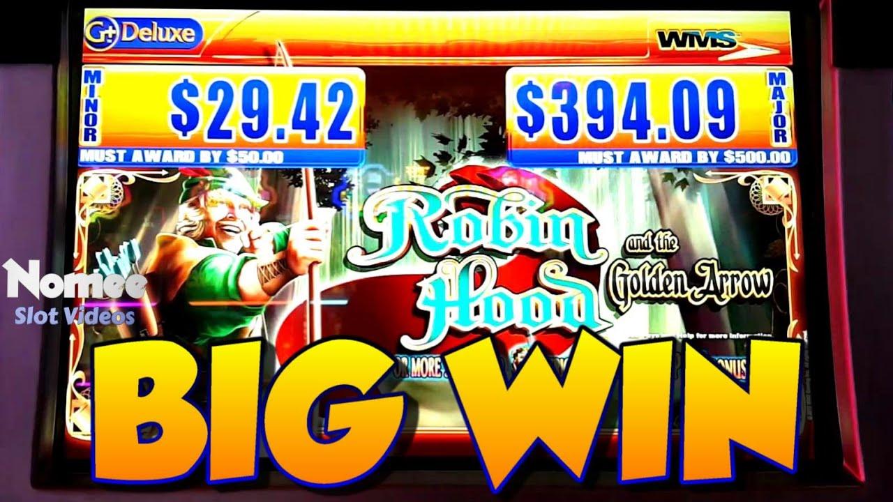 Big Win Robin Hood And The Golden Arrow Slot Machine