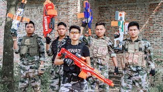LTT Nerf War : Captain SEAL X Warriors Nerf Guns Fight Counterattack Criminal Group