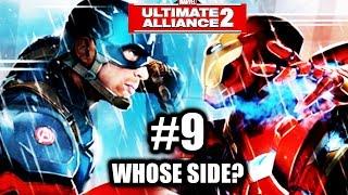 Marvel: Ultimate Alliance 2 - Gameplay Walkthrough Part 9 - Civil War - Whose Side?