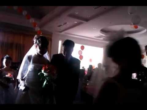 Pháo bóng nổ tiệc cưới - Dịch vụ bóng bay nghệ thuật 0914885886