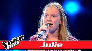 Julie synger: Ellie Goulding – 'Love Me Like You Do'  – Voice Junior / Blinds
